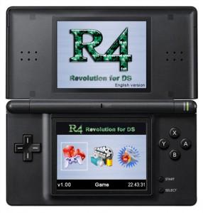 R4 flashkaart