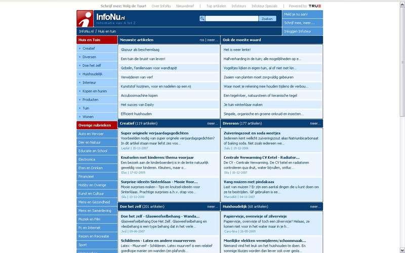 infonu homepage