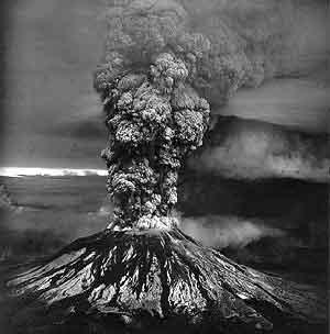 vulkaan grijs